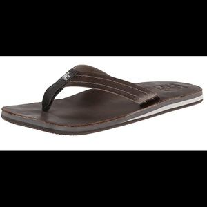 CUSHE Brand NEW Leather Mens Flip-Flop size 9 or M